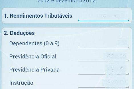 Screenshot 2013 03 19 10 05 40 - Receita Federal lança aplicativo para simulação do Imposto de Renda