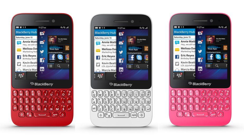 blackberry q5 - BlackBerry mira nos mercados emergentes com novo Q5