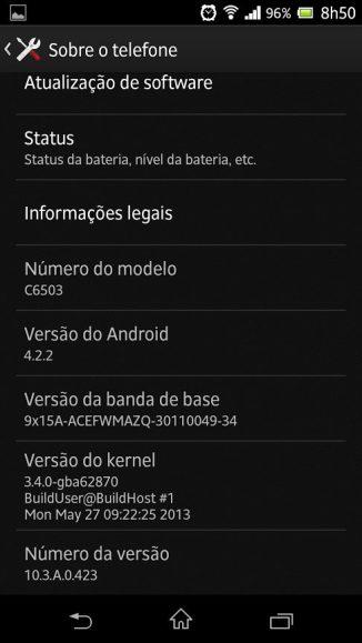 Xperia ZQ Android 4.2.2 Showmetech Jelly Bean 5 - Tutorial: instalando o Android 4.2.2 no Xperia ZQ (C6503)
