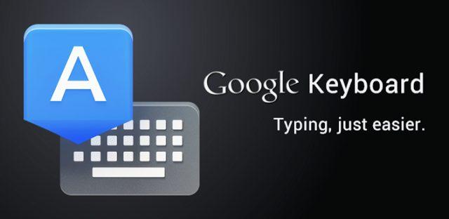 google keyboard - Google libera teclado do Nexus para outros Androids