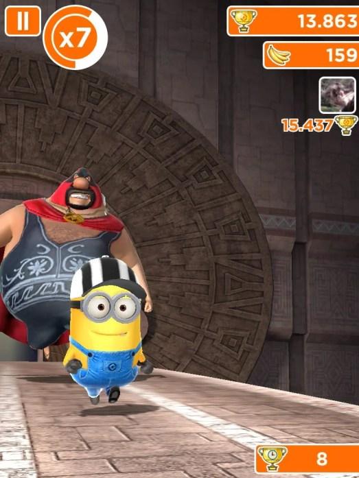 IMG 0332 - Game Review: Meu malvado favorito: Minion Rush (iOS)