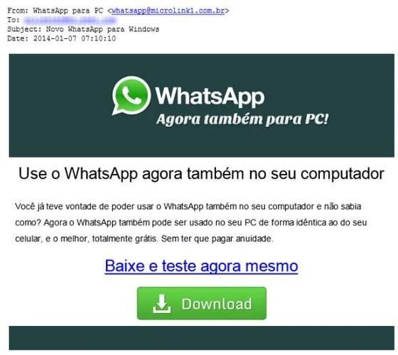 Captura de Tela 2014 01 12 às 10.37.00 - Cuidado: promessa de Whatsapp gratuito para PC é golpe (Atualizado)