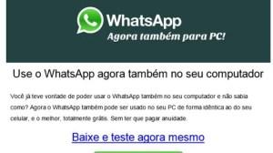 Cuidado: promessa de Whatsapp gratuito para PC é golpe (Atualizado) 12