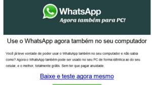 Cuidado: promessa de Whatsapp gratuito para PC é golpe (Atualizado) 10