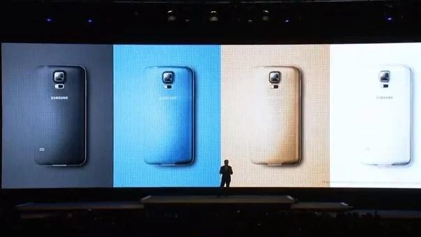 Samsung Galaxy S5 tem leitor de digitais e monitor cardíaco 8