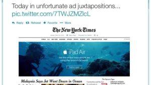 Apple dá azar em anúncio no The New York Times 14