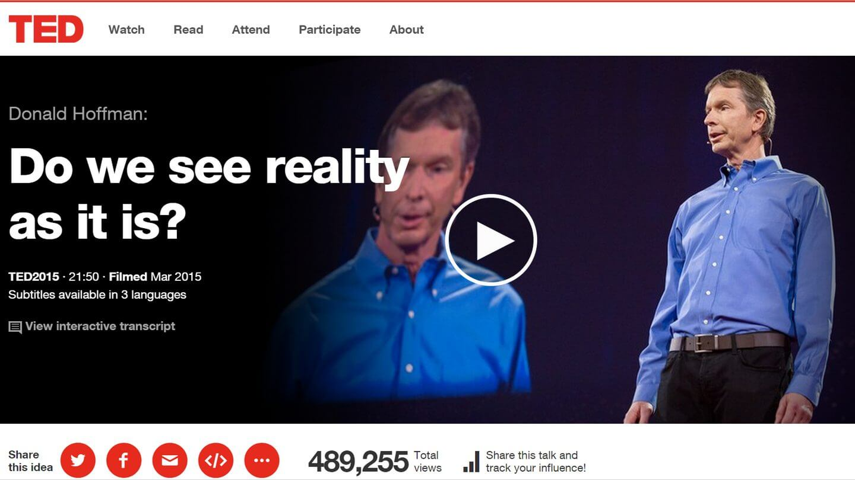 smt donaldhoffman capa - TED Talks: Donald Hoffman fala sobre a complexidade do enxergar
