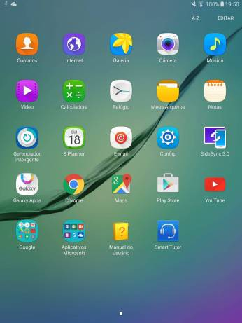 galaxy tab s2 screenshot 1 - Review: tablet Galaxy Tab S2 da Samsung