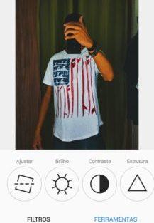 Instagram testa novo visual preto e branco 6