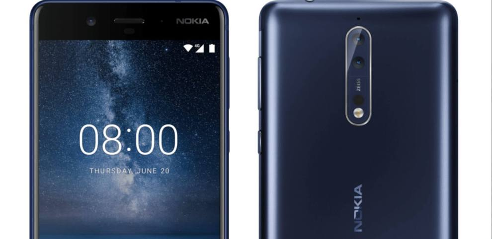 Nokia 8 pode estar próximo de ser lançado