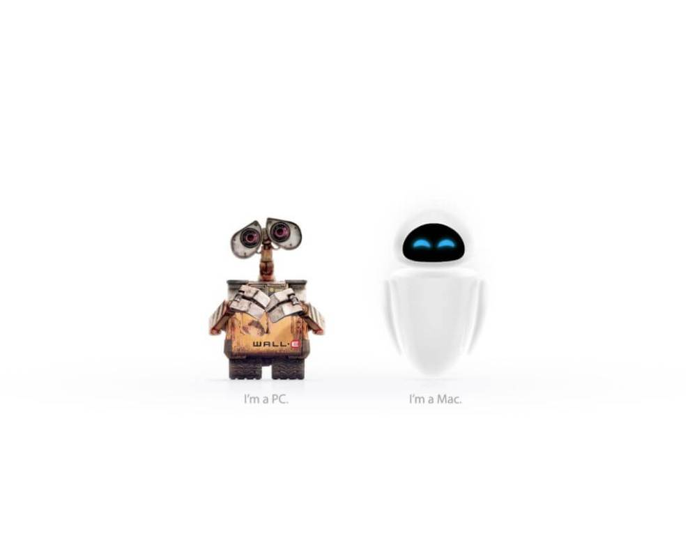walle eve pc mac - PC ou Mac? O guia definitivo.