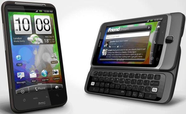 HTC Desire HD and HTC Desire Z2 - HTC planeja trazer novos Smartphones da linha Desire ao Brasil!