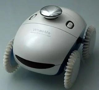 WheeMe Robo massageador showmetech2 - WheeMe: Robô massageador