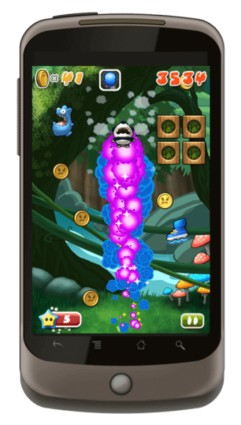 android megajump 340x600 - Mega Jump e outros jogos gratuitos do Android Market
