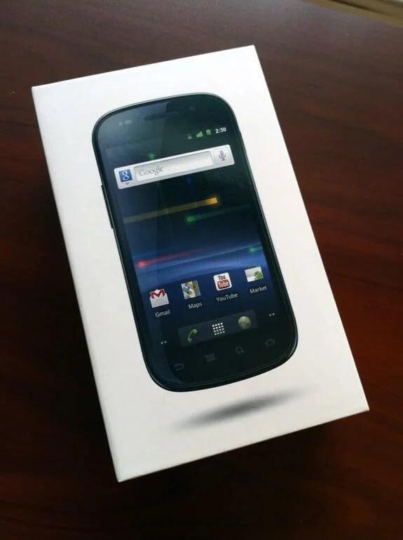 nexus s box - Vídeo: Nexus S unboxing