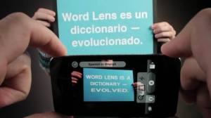 Aplicativo para o iPhone traduz imagens da câmera em tempo real 7
