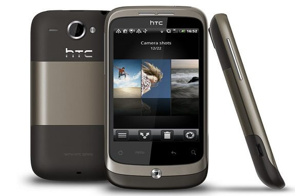 HTC Wildfire1 - Review: HTC Wildfire