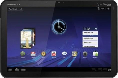 CES 2011: Motorola apresenta o Xoom, seu tablet dual-core 9