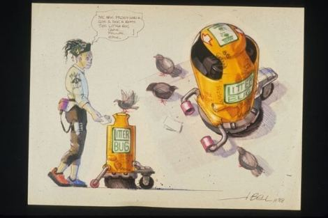 concept drawings back to the future 6 - IMAGENS: Back to the Future II Concept Art