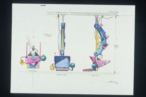 concept drawings back to the future 8 - IMAGENS: Back to the Future II Concept Art