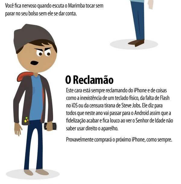 iesp - humor- Os 7 tipos de proprietarios de Iphone