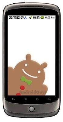 Nexus One prestes a receber a atualização Gingerbread 2.3 5
