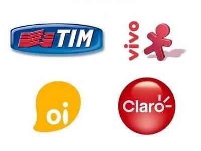 vivo tim claro oi operadoras celular brasil1 - Novo Mapa do 3G: lista de frequências das operadoras Brasileiras