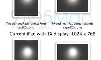 "9to5MacTwitterRetina - Gráficos de ""Retina Display"" para futuro iPad aparecem em SDK do iOS 5"
