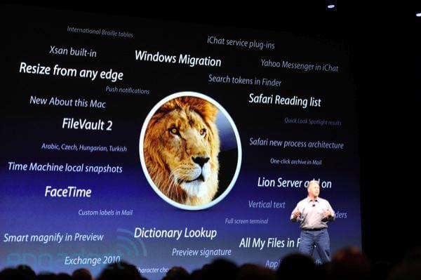 Apple WWDC 2011: Mac OS X Lion 3