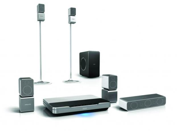 HTS9520 03 - Review: Home Theater Philips 5.1 Blu-ray 3D - HTS9520