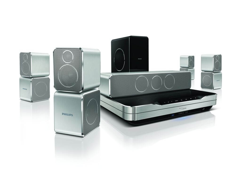 HTS9520 04 - Review atualizado: Home Theater Philips 5.1 Blu-ray 3D - HTS9520-55