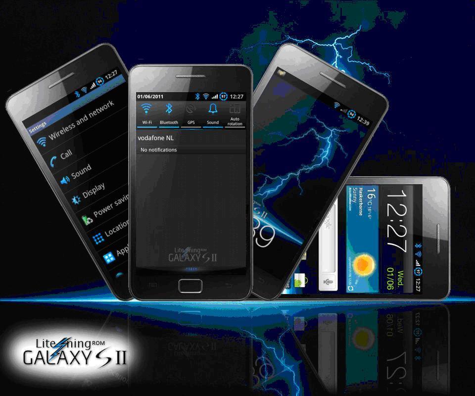 Litening Rom v4.0 XXKG3 - Lite'ning Rom v4.1 XXKG3: nova atualização para o Galaxy S II