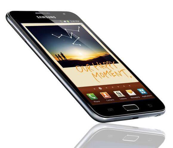 samsung galaxy note 1 - Samsung Galaxy Note: 5,3 polegadas de smartphone