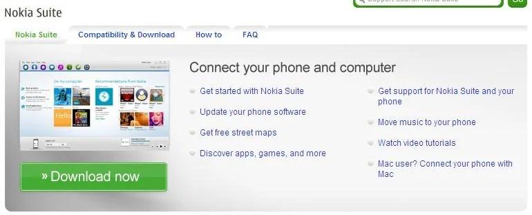 """Nokia Suite sai do beta e acaba com o """"OVI Suite"""" 4"""