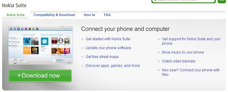 """Nokia Suite sai do beta e acaba com o """"OVI Suite"""" 7"""