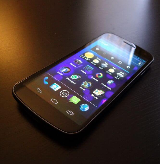 galaxy x galaxy nexus - Galaxy X (Galaxy Nexus) chega ao Brasil ainda neste trimestre