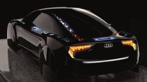 audi r8 oled tech 1 - Audi apresenta carro conceito com tecnologia OLED