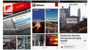 android flipboard - Flipboard ou Google Currents: Qual o melhor gestor de conteúdo para seu smartphone e tablet?