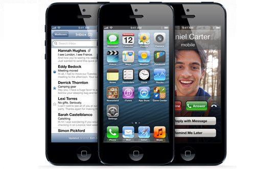 Apple iPhone 5 - Apple registra recorde na venda de iPhones