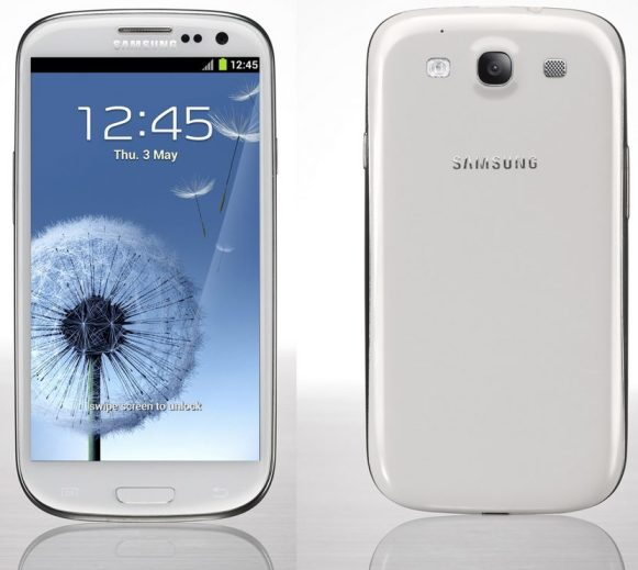 Reprodução Samsung Galaxy SIII