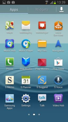 Galaxy SIII 4.1.1 Jelly Bean A - Galaxy SIII: lista de leaks da atualização 4.1.2 do Android (Jelly Bean)