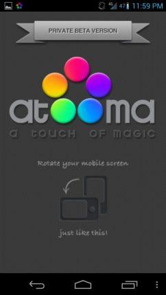 Atooma Android App - Programe tarefas automáticas no tablet ou smartphone com o Atooma