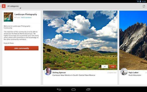unnamed 2 - Aplicativo do Google+ agora suporta comunidades (e acrescenta recursos interessantes).