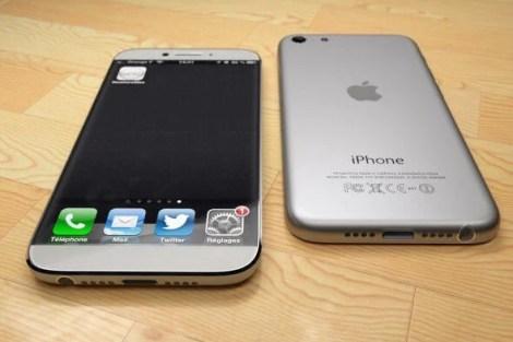 the silver and white model reminds us of the original iphone slimmed down1 - Como seria um iPhone 6 inspirado no iPad Mini?