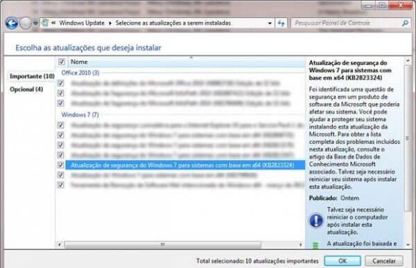windows 7 atualizacao 600x387 - Alerta: nova atualização automática do Windows 7 paralisa o sistema