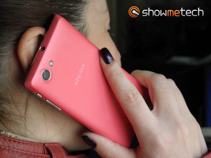 P5100357a - Sony lança smartphone Xperia J na cor rosa para o Dia das Mães