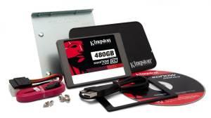 KC300 480GB Desktop kit - Kingston lança linha de discos SSD com 5 opções de capacidade (60GB a 480GB)