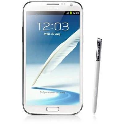 br GT N7100TAPZTO 001 Front white - Tutorial: Samsung Galaxy Note II (GT-N7100) recebe atualização com S-Voice em PT-BR