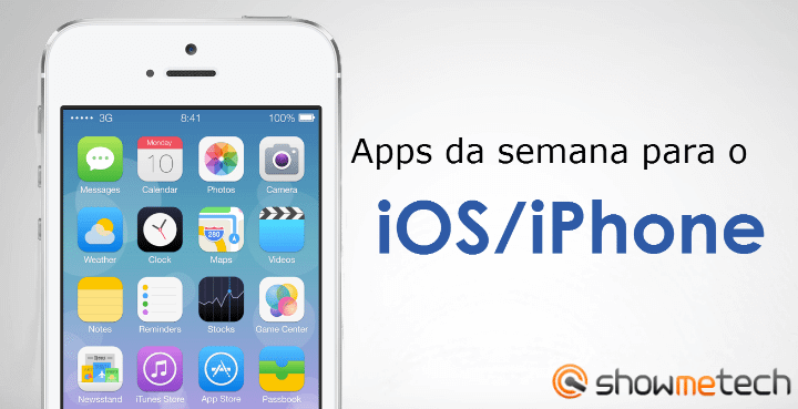 Apps da Semana iOS iPhone1 - Apps favoritos do Leitor: Rafael Alexandre (iOS)