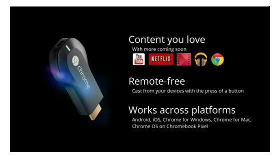 Chromecast 2 - Google apresenta o Android 4.3, novo Nexus 7, ChromeCast e outras novidades